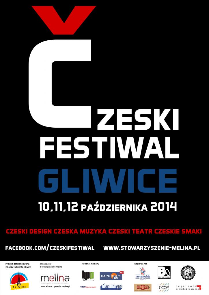 plakat CZESKI FESTIWAL 2014